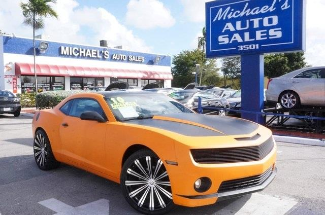 2010 CHEVROLET CAMARO LT 2DR COUPE W2LT orange metallic right car right price drive this home t