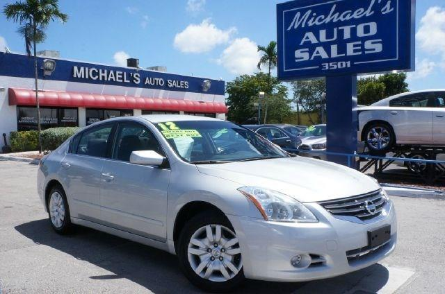 2012 NISSAN ALTIMA 25 S 4DR SEDAN brilliant silver metallic 99 point safety inspection cl
