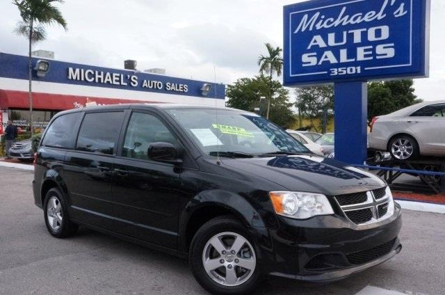 2012 DODGE GRAND CARAVAN SXT 4DR MINI VAN brilliant black crystal pearlc 99 point safety inspect
