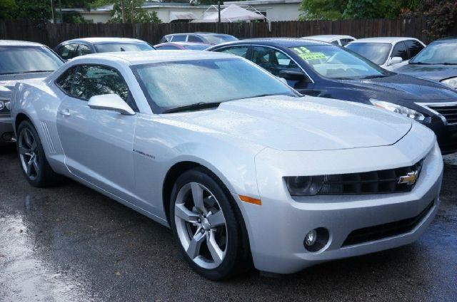 2011 CHEVROLET CAMARO LT 2DR COUPE W1LT silver ice metallic 99 point safety inspection cl