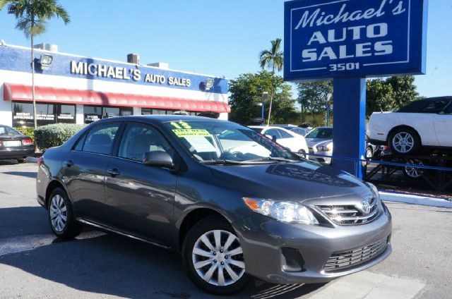 2013 TOYOTA COROLLA LE 4DR SEDAN 4A magnetic gray metallic 99 point safety inspection autom