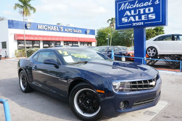 2012 CHEVROLET CAMARO 1LS imperial blue metallic 99 point safety inspection automatic an