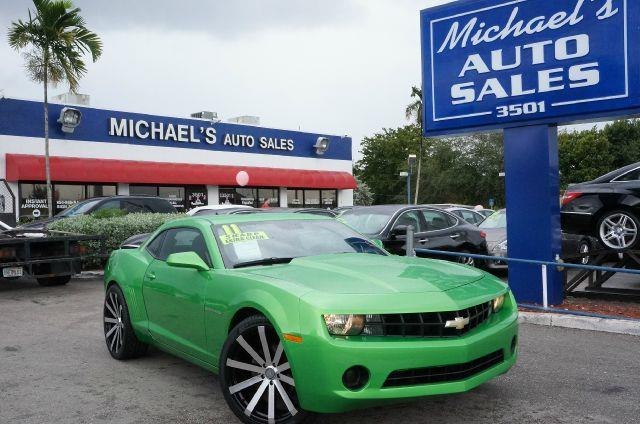 2011 CHEVROLET CAMARO 1LS synergy green metallic camaro 1ls moonroof  sunroof navigation