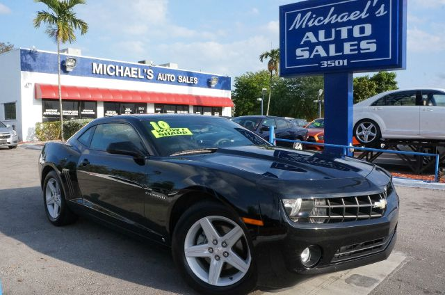 2010 CHEVROLET CAMARO 1LT black 99 point safety inspection automatic clean carfax a