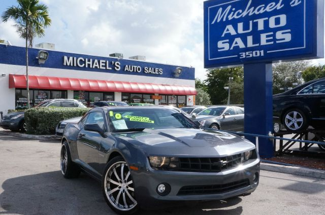 2010 CHEVROLET CAMARO 2LT cyber gray metallic 99 point safety inspection clean title l
