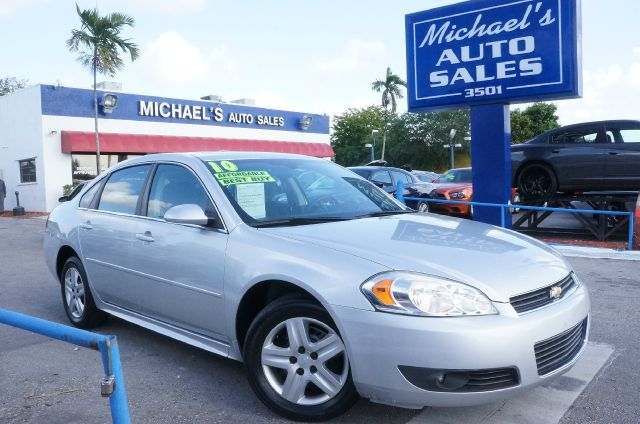 2010 CHEVROLET IMPALA LT silver ice metallic 99 point safety inspection automatic and