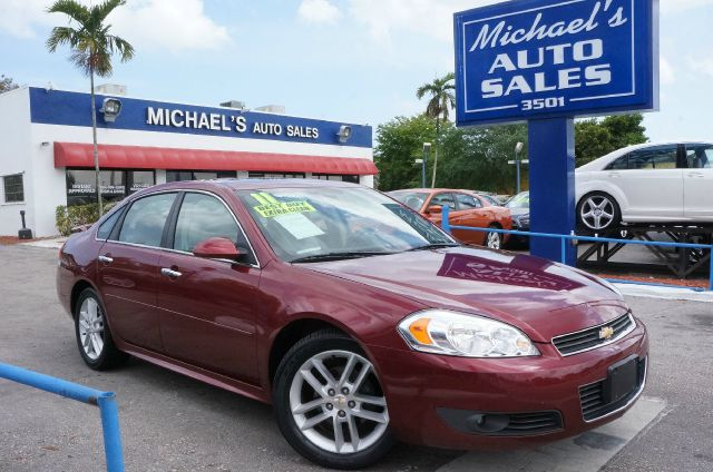 2011 CHEVROLET IMPALA LTZ burgundy 99 point safety inspection automatic clean carfax