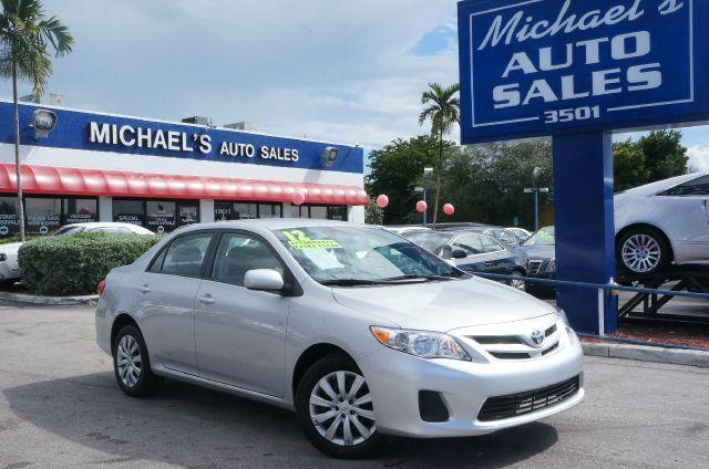 2012 TOYOTA COROLLA LE 4-SPEED AT classic silver metallic call now 1-866-717-9571  free autocheck