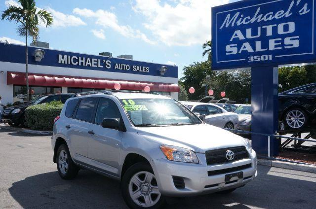 2010 TOYOTA RAV4 BASE classic silver metallic 4wd you need to see this suv welcome to michaels