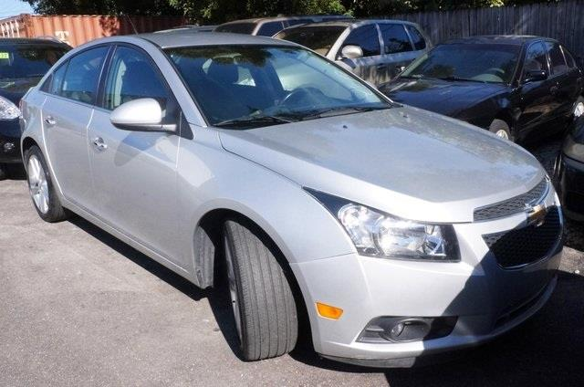 2013 CHEVROLET CRUZE LTZ AUTO 4DR SEDAN W1SJ silver turbo silver bullet want to stretch your