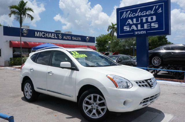 2012 NISSAN ROGUE SV 4DR CROSSOVER pearl white 99 point safety inspection automatic cl