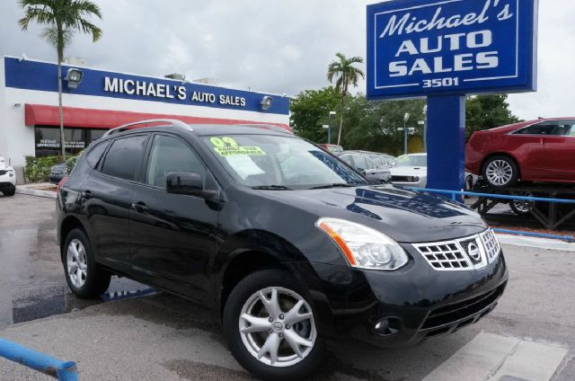2009 NISSAN ROGUE SL wicked black clean carfax 99 point safety inspection automatic