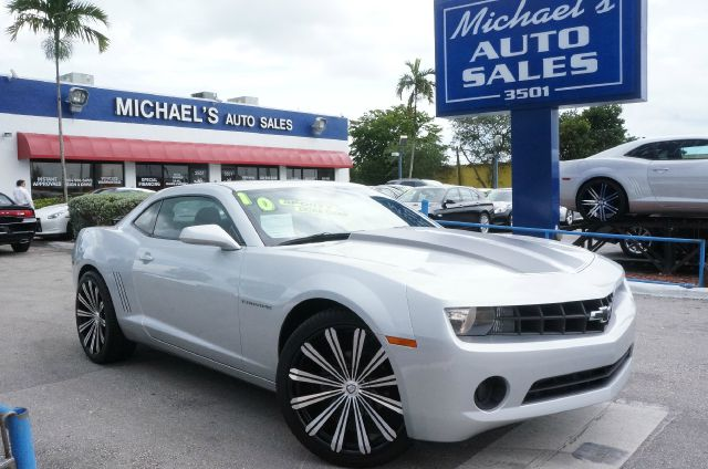 2010 CHEVROLET CAMARO LS 2DR COUPE silver ice metallic 99 point safety inspection automatic