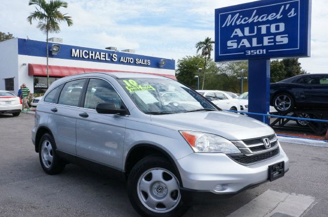 2010 HONDA CR-V LX alabaster silver metallic 99 point safety inspection automatic clea