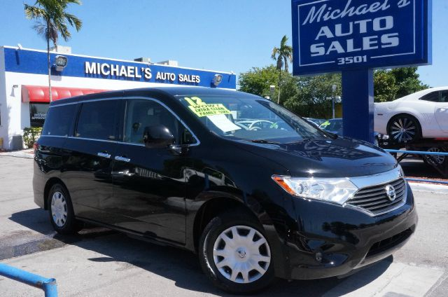 2012 NISSAN QUEST 35 S super black clean carfax 99 point safety inspection automati