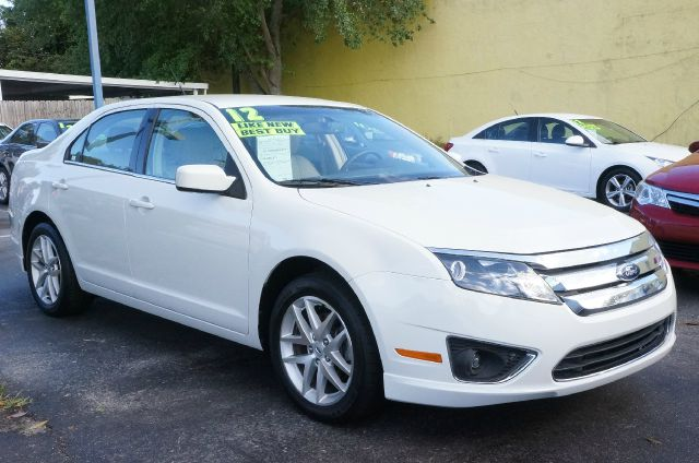 2012 FORD FUSION SEL white suede 6-speed automatic 99 point safety inspection automatic