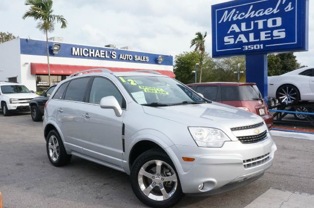 2012 CHEVROLET CAPTIVA SPORT LTZ silver ice metallic 99 point safety inspection automatic