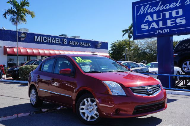 2011 NISSAN SENTRA 20 S red brick pearl 99 point safety inspection clean carfax and c