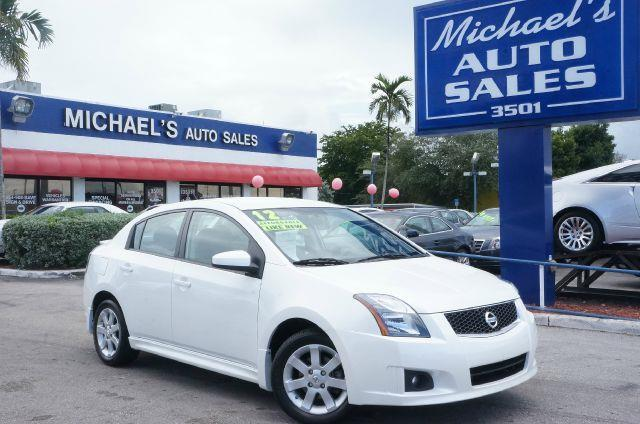 2012 NISSAN SENTRA 20 SR aspen white 99 point safety inspection clean title and non-s