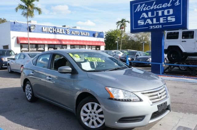 2013 NISSAN SENTRA S amethyst gray 99 point safety inspection automatic clean carfax