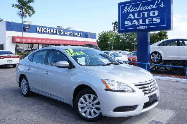 2013 NISSAN SENTRA SV brilliant silver 99 point safety inspection automatic clean carf