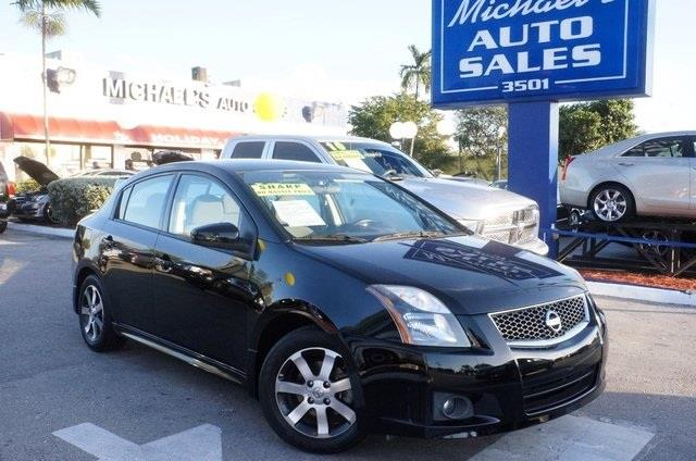 2011 NISSAN SENTRA 20 S 4DR SEDAN super black wow where do i start drive this home today ar