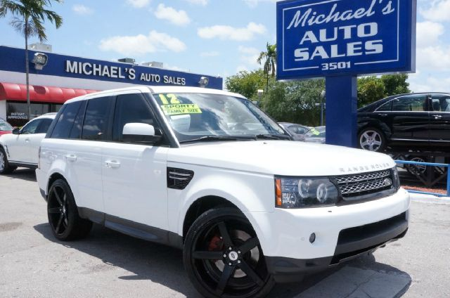 2012 LAND ROVER RANGE ROVER SPORT HSE 4X4 4DR SUV fuji white 99 point safety inspection aut