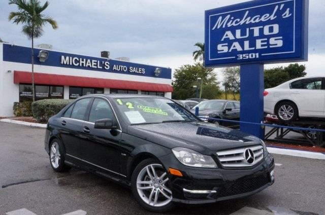 2012 MERCEDES-BENZ C-CLASS C250 black theres no substitute for a mercedes-benz ready to roll