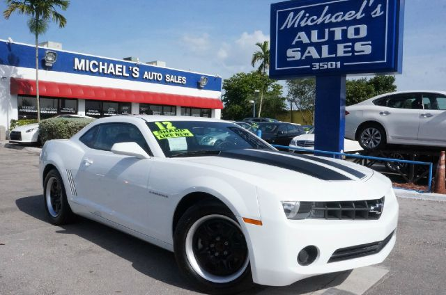 2012 CHEVROLET CAMARO LS 2DR COUPE W2LS summit white 99 point safety inspection automatic