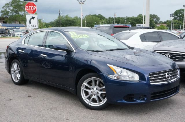 2011 NISSAN MAXIMA 35 S navy blue metallic clean carfax 99 point safety inspection