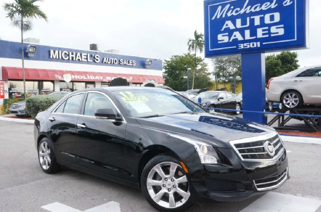 2013 CADILLAC ATS 25L LUXURY 4DR SEDAN black raven 99 point safety inspection clean carfa