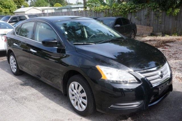 2014 NISSAN SENTRA super black dont bother looking at any other car welcome to michaels auto sa