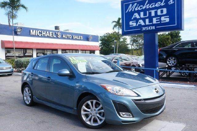2011 MAZDA MAZDA3 S celestial blue mica clean carfax 99 point safety inspection auto