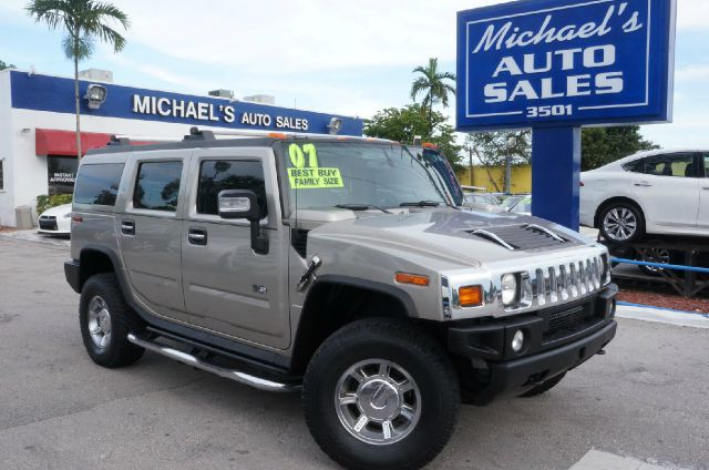 2007 HUMMER H2 BASE 4DR SUV 4WD gold clean carfax 99 point safety inspection automat