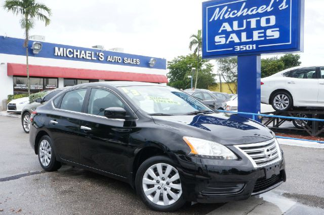 2013 NISSAN SENTRA S super black 99 point safety inspection and automatic here it is att