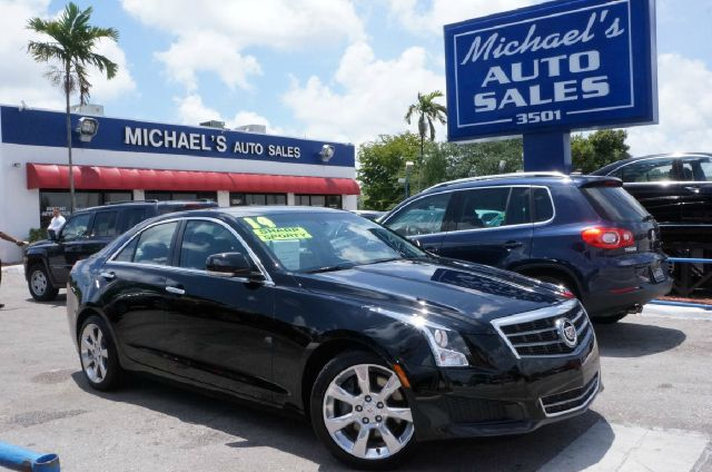 2013 CADILLAC ATS 20T LUXURY 4DR SEDAN black diamond tricoat what a superb deal turbo dont m