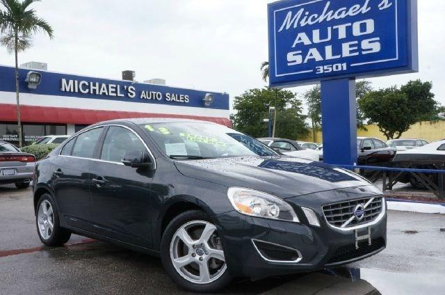 2013 VOLVO S60 T5 4DR SEDAN flamenco red metallic 99 point safety inspection clean carfax