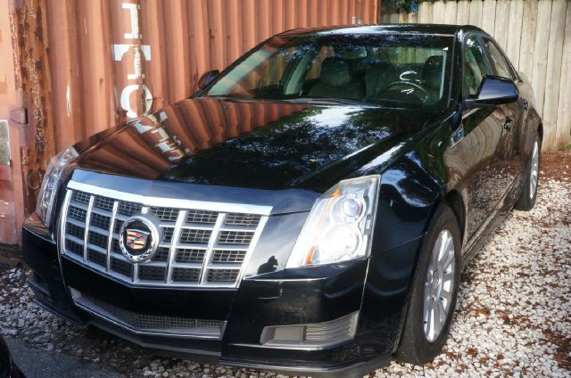 2011 CADILLAC CTS 30L 4DR SEDAN black raven 17 x 8 painted aluminum wheelsleatherette seatin