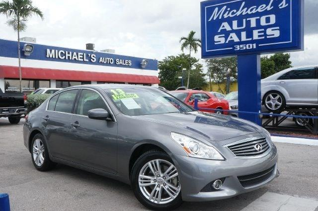 2013 INFINITI G37 SEDAN X AWD 4DR SEDAN graphite shadow 99 point safety inspection clean c