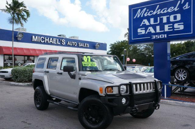 2007 HUMMER H3 H3X boulder gray metallic clean title all the right ingredients 4 wheel drive wh
