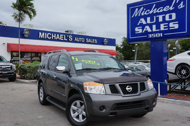 2011 NISSAN ARMADA SL smoke 99 point safety inspection clean title and local trade