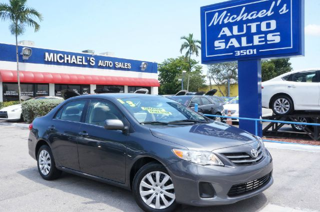 2013 TOYOTA COROLLA LE 4DR SEDAN 4A magnetic gray metallic clean carfax 99 point safety i