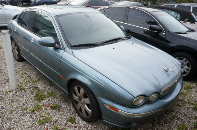 2004 JAGUAR X-TYPE 30 AWD 4DR SEDAN blue 99 point safety inspection automatic and cle