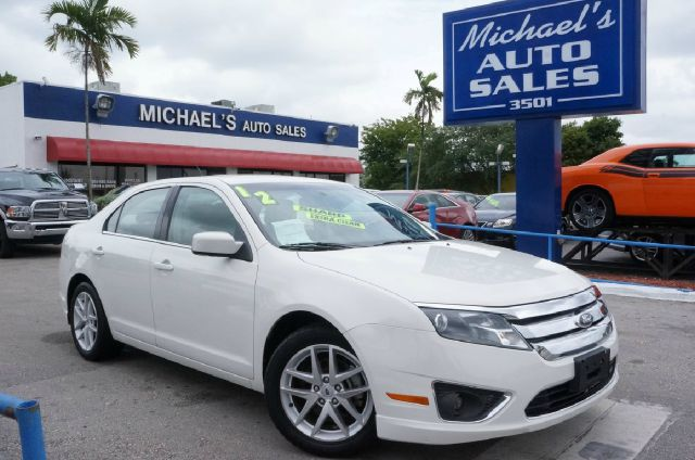 2012 FORD FUSION SEL 4DR SEDAN white suede clean carfax 99 point safety inspection and