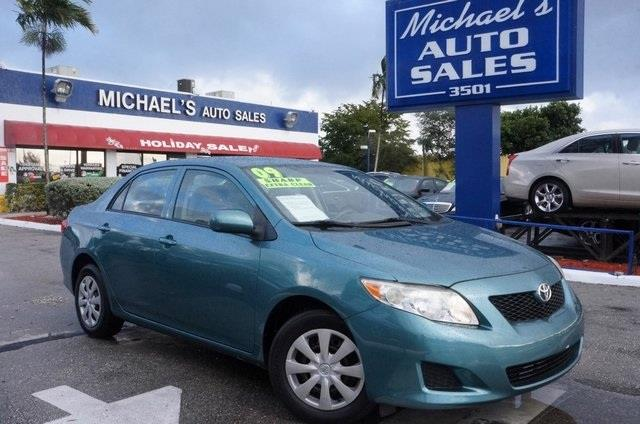 2009 TOYOTA COROLLA LE 4DR SEDAN unspecified 99 point safety inspection clean carfax