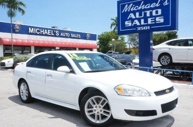 2014 CHEVROLET IMPALA LIMITED LTZ FLEET 4DR SEDAN summit white 99 point safety inspection a