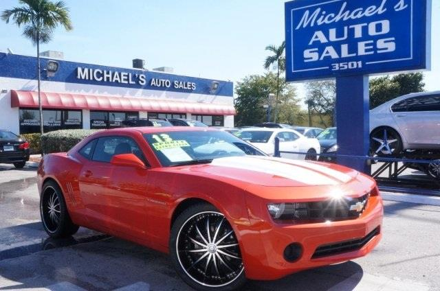 2013 CHEVROLET CAMARO LS 2DR COUPE W2LS victory red you need to see this car the michaels auto