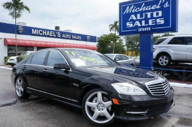 2011 MERCEDES-BENZ S-CLASS S550 4DR SEDAN black 99 point safety inspection leather aut
