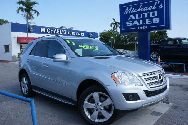 2011 MERCEDES-BENZ M-CLASS ML350 4MATIC AWD 4DR SUV iridium silver metallic 4matic- 99 point