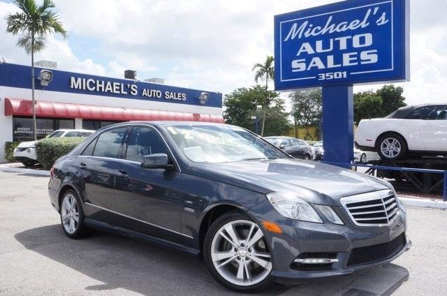 2011 MERCEDES-BENZ E-CLASS E350 steel gray metallic in a class by itself why pay more for less